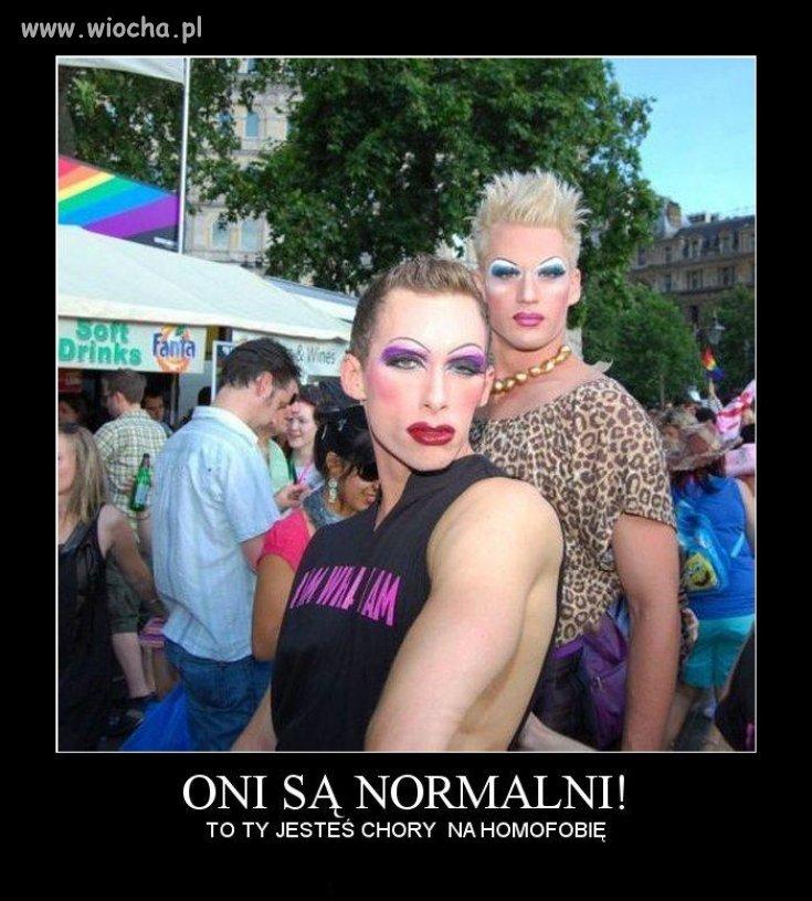 Oni są normalni !