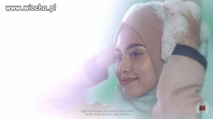 Reklama szamponu w krajach islamskich