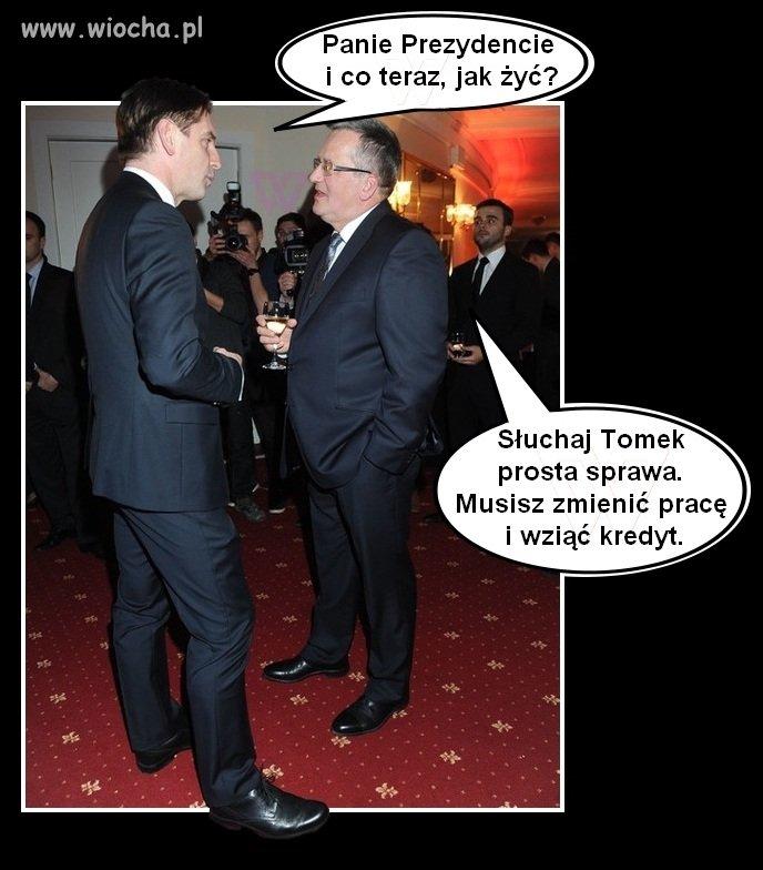 Taka rada dla Tomka