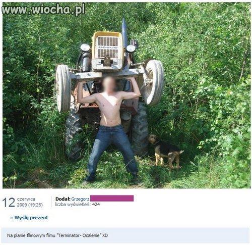 Traktormen