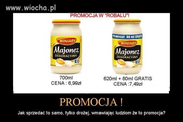 Promocja  wybierajcie produkty z promocji
