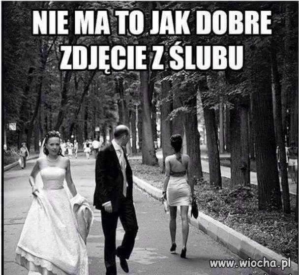 Ślubna fotka