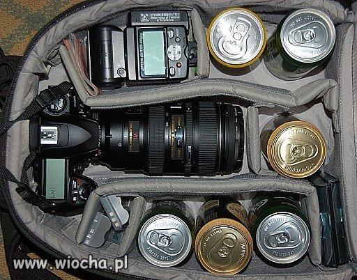 Przygotowanie do nauki fotografowania w plenerze.