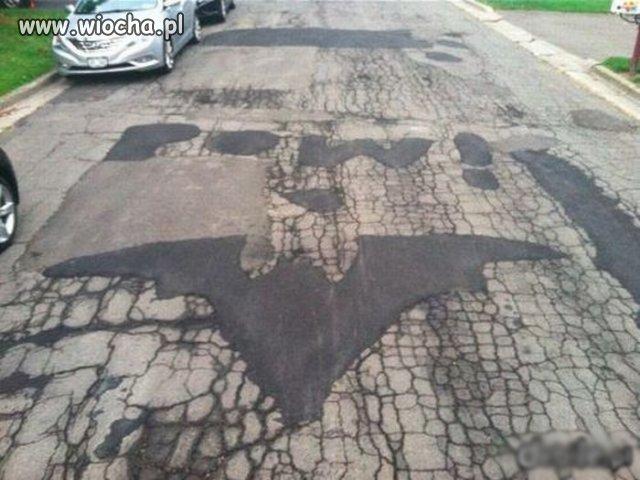Batman tu był
