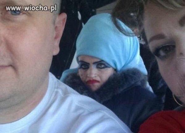 Bardzo wyrazisty ten makijaż