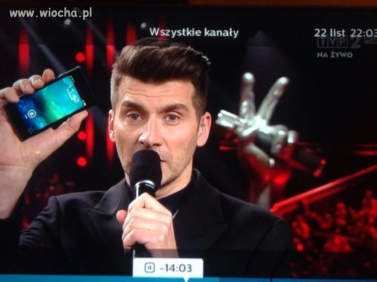 Podobno The Voice of Poland leci na żywo
