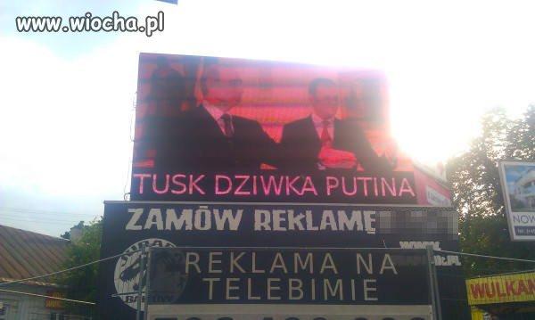 Taka tam reklama w Kielcach