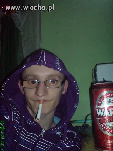 Tym razem lans na piwo