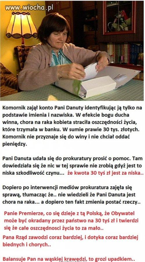 Komornik zabrał 30 tys zł.