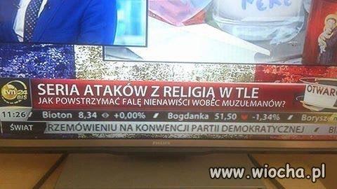 Seria ataków ? Na muzułmanów?
