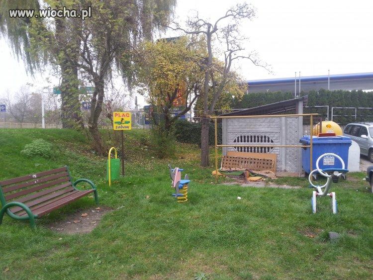 Plac zabaw w Koszalinie