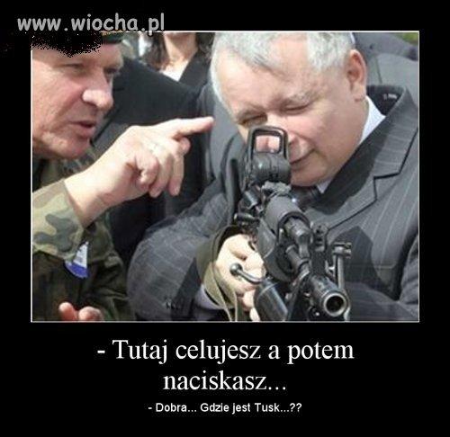 Jaros�aw K...zapowiedzia� ostr� walk� o sto�ek premiera
