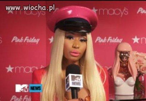 Nicki Minaj, kolejna gwiazdka inteligentna inaczej