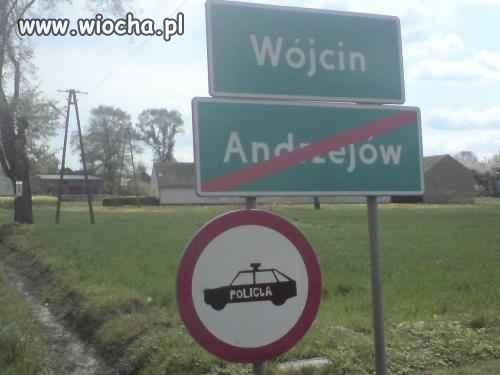 Stop dla policji