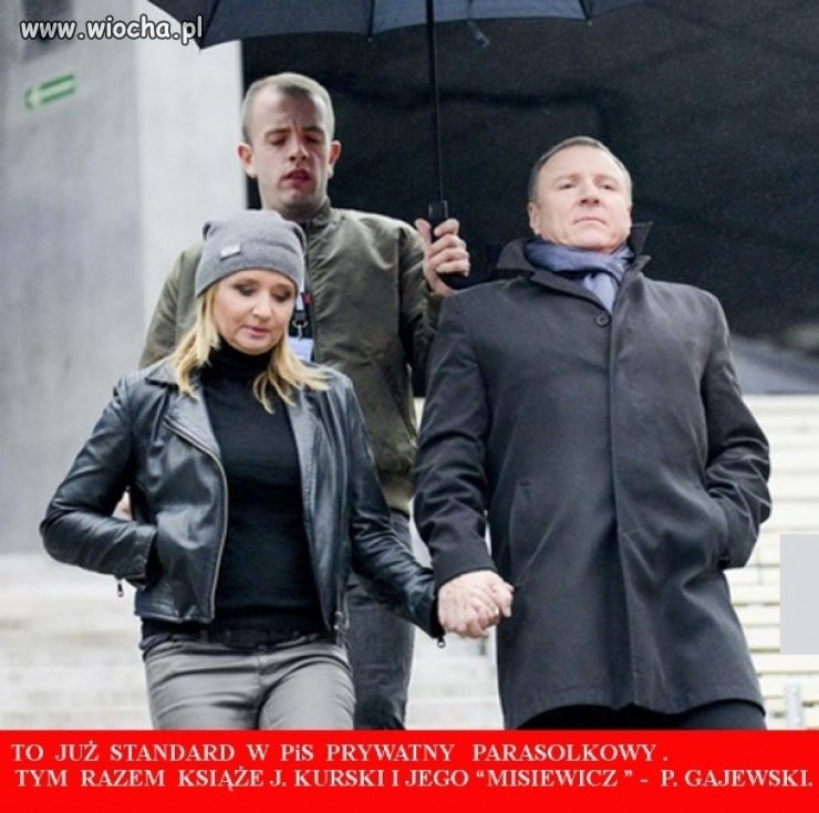 Prezes TVP i jego kochanka też maja parasolkowego