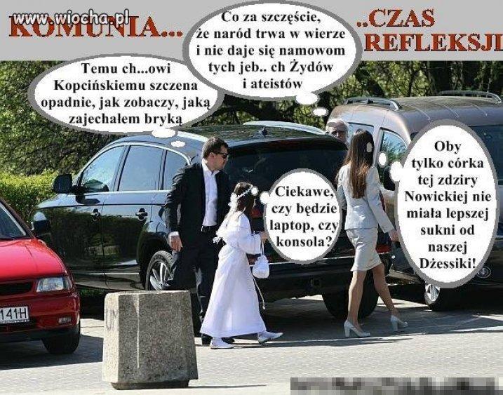 Komunia po Polsku