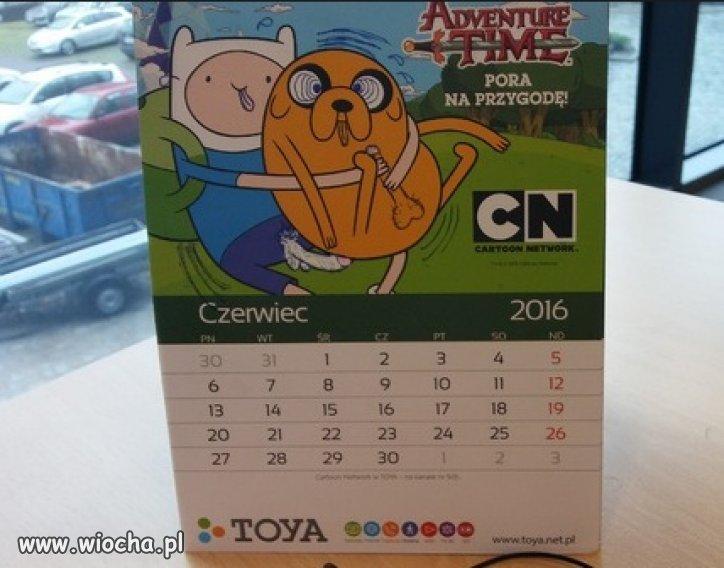 Coś dziwnego jest w tym kalendarzu...