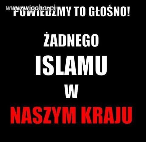 Ani Islamu ani innego �cierwa!