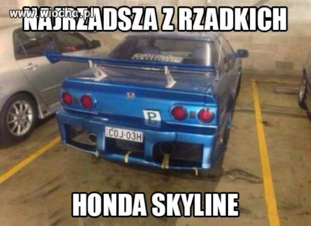 Piękna Honda Skyline