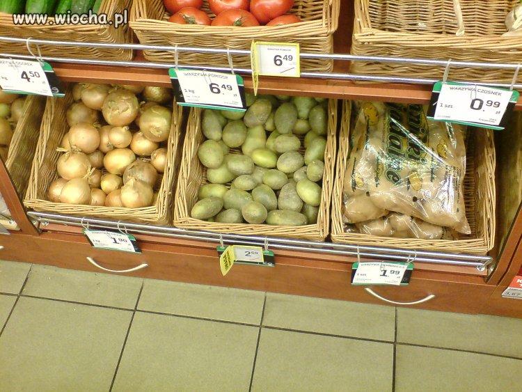 """Trujące zielone ziemniaki sprzedawane jako """"młode"""""""