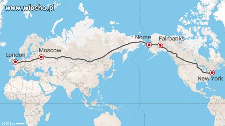 Superautostrada - połączenie Europy z Ameryką