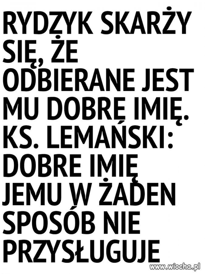 Ks. Lemański