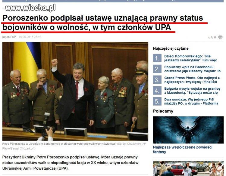 """Nasi """"bracia"""" Ukraińcy..."""