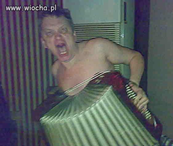 Szalony akordeonista