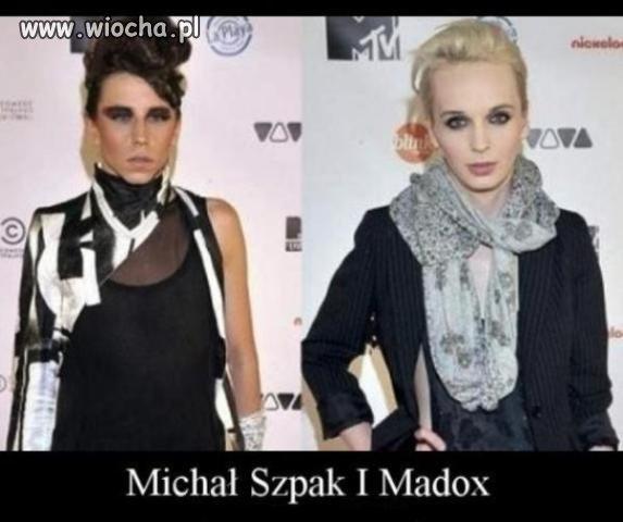 Michał Szpak i Madox