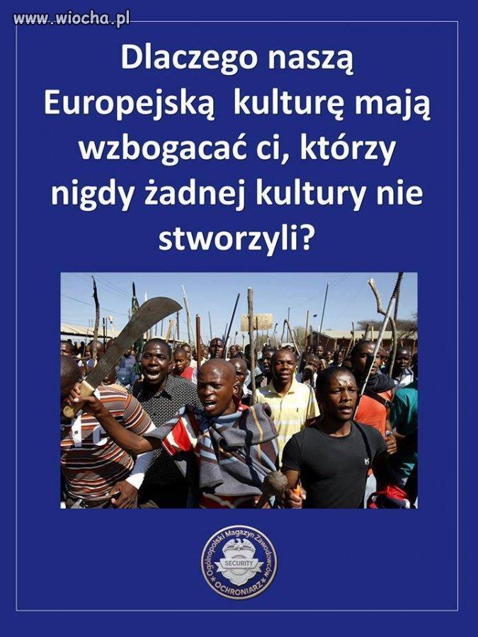 Statystyki przestępczości w UE, a nawet USA i Ameryce Południowej pokazują, że bliżej im do Afryki, niż do Europy.