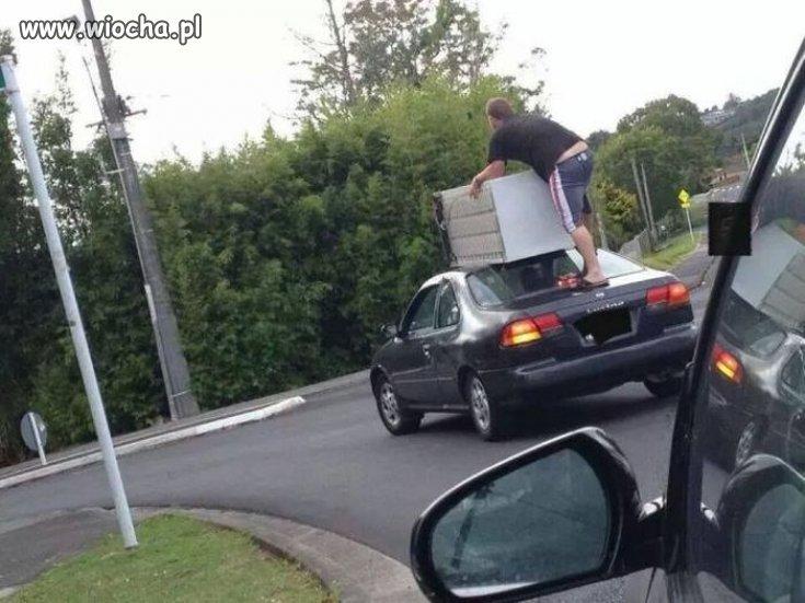 Fachowy transport.
