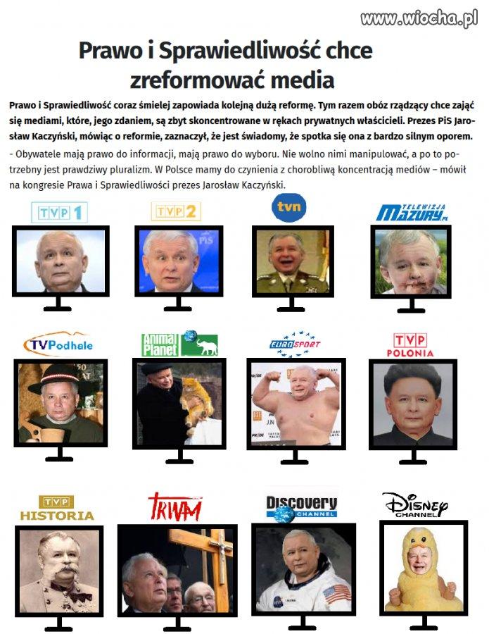Reforma mediów