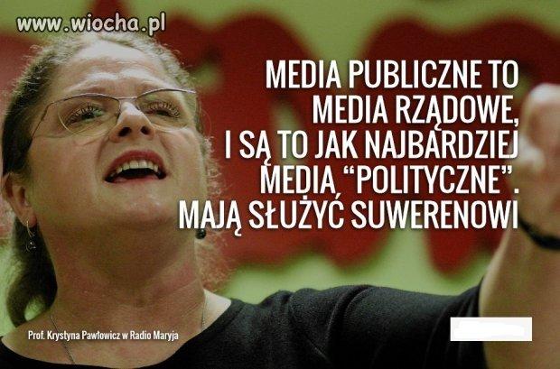 """Media """"rz�dowe"""" nie powinny zajmowa� si�"""