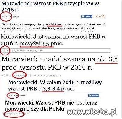 Z cyklu opowieści Pana Morawieckiego
