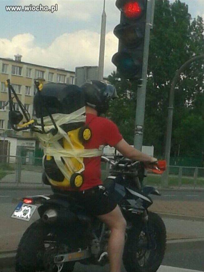 Pomysłowy transport.