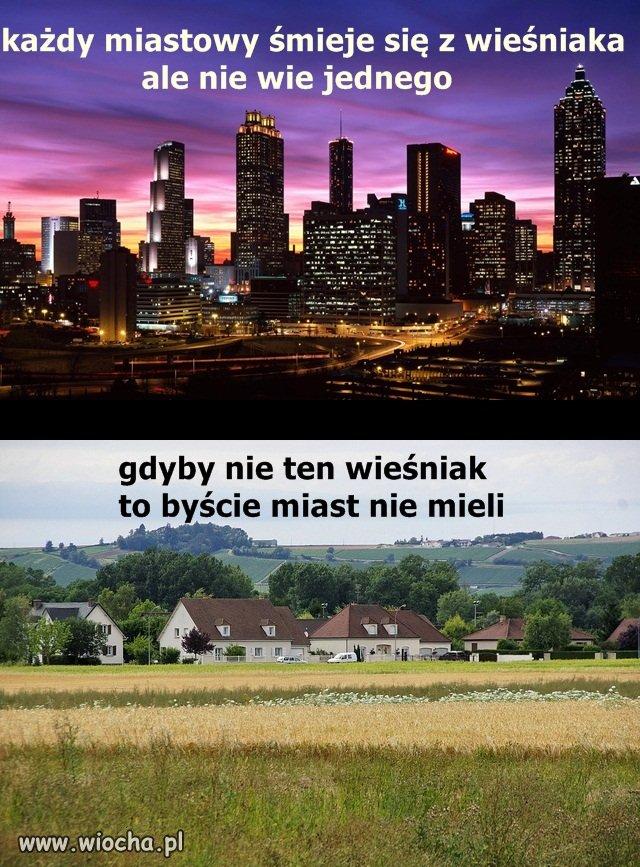 Miastowy pomyśl dwa razy