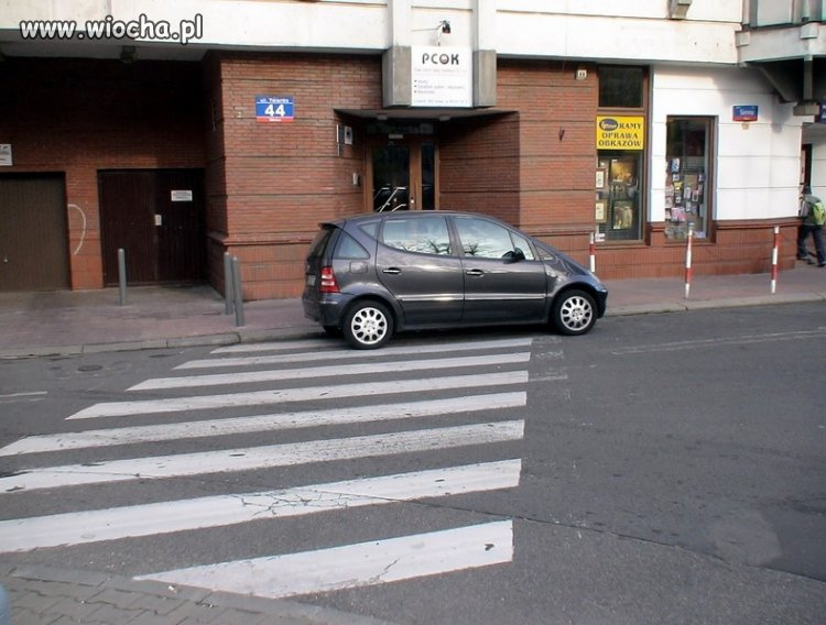 A parkuj sobie gdzie chcesz.