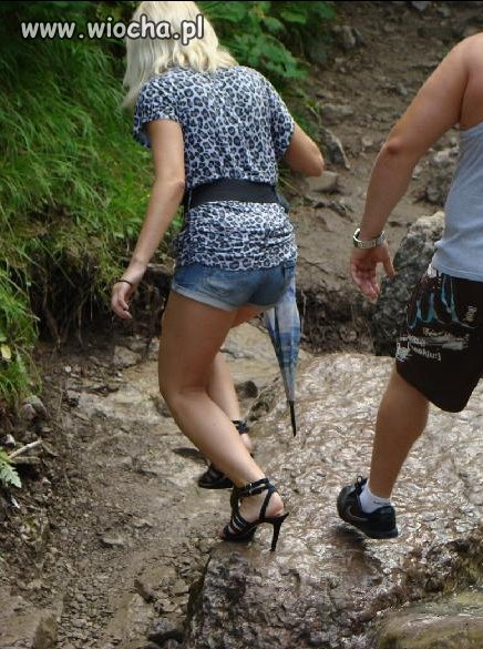 Buty odpowiednie na górskie szlaki...