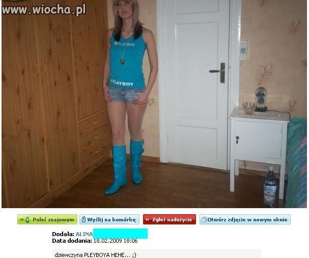 Dziewczyna Playboya?