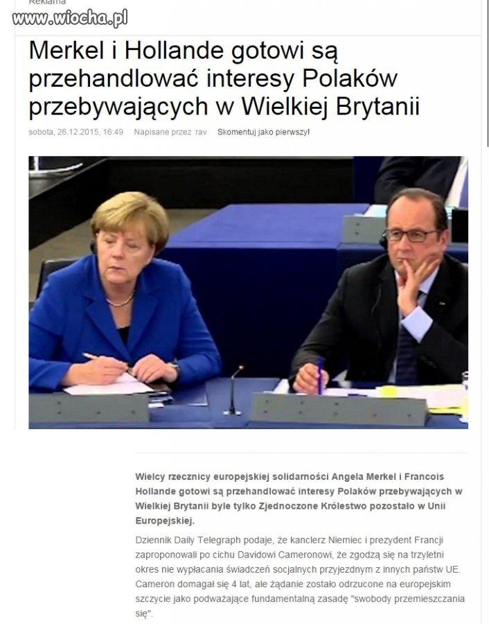 Tak właśnie wygląda Wspólnota Europejska.