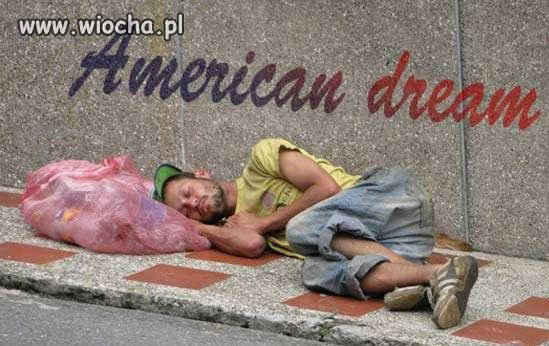 Jak wygląda amerykański sen?
