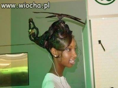 To się nazywa wyleciana fryzura
