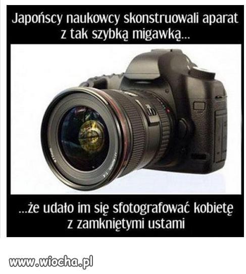 Japońscy naukowcy skonstruowali aparat