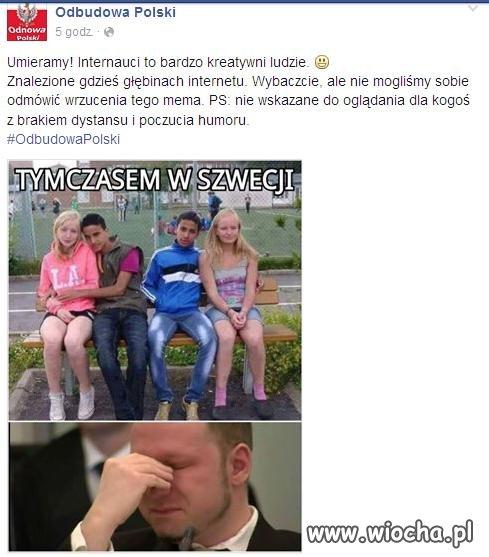 Mem z facebooka
