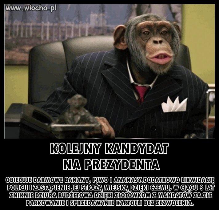 Nowy kandydat na prezydenta RP
