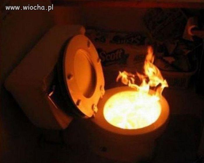 Nie ma to jak ciepło domowego ogniska.