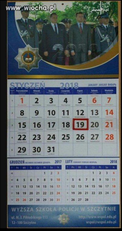 """""""Wazelinkowy"""" kalendarz"""