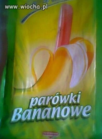 PARÓWKI BANANOWE!:)