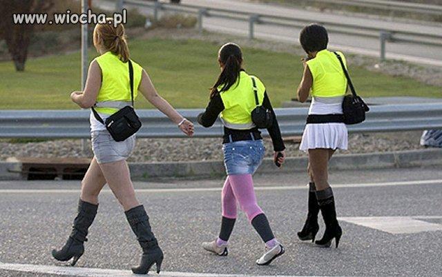 W Katalonii pracujące przy drodze prostytutki mogą czuć
