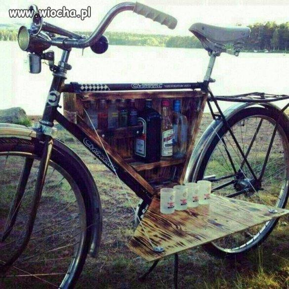 Taki rower to ja rozumiem..hehe